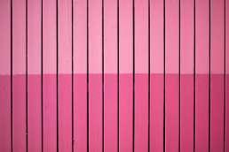 Light and dark pink panels