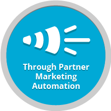 Through Partner Marketing Automation