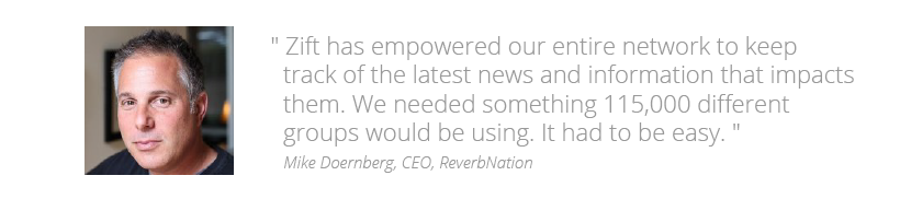 Reverbnation Customer Quote