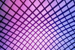 Purple checkered wall