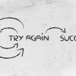try and try again