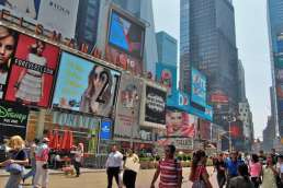 Photo of New York Times Square