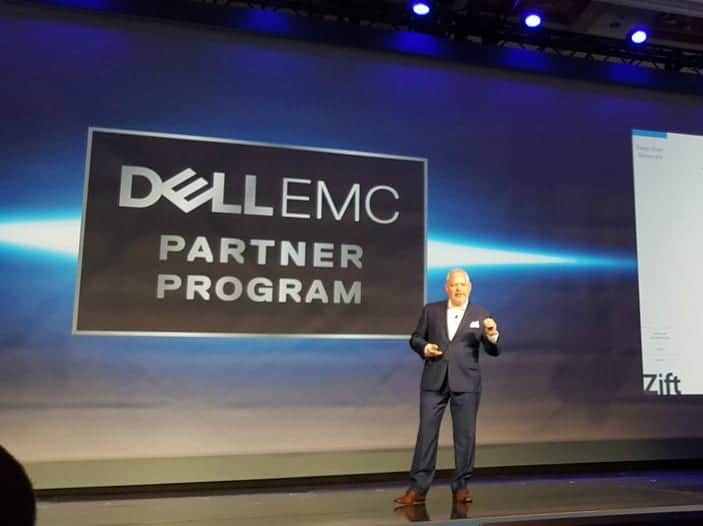 Laz Gonzalez presents at Dell EMC Partner World