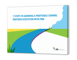 7 STEPS TO GROWING A PROFITABLE CHANNEL PARTNER ECOSYSTEM WITH PRM