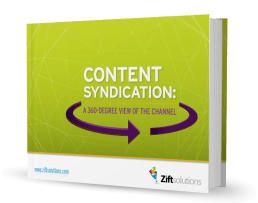 CONTENT SYNDICATION: A 360-DEGREE VIEW OF THE CHANNEL