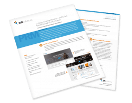 PRM Datasheet about engaging channel partners and driving breakthrough performance