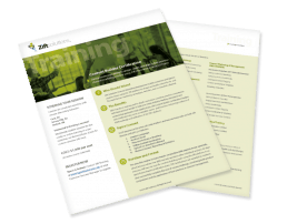 Papers showing information about content builder certifications