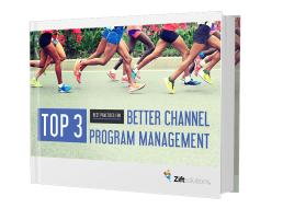 Top 3 Better Channel Program Management book with runners on the cover