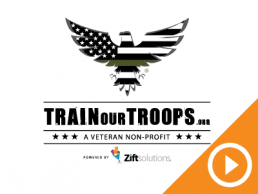 Train Our Troops Video Logo Zift Solutions Customer