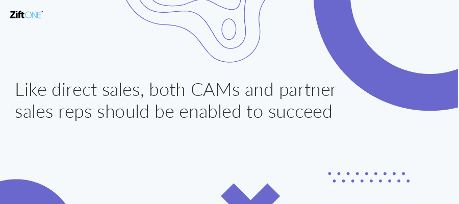 Improve CAM and Partner Enablement